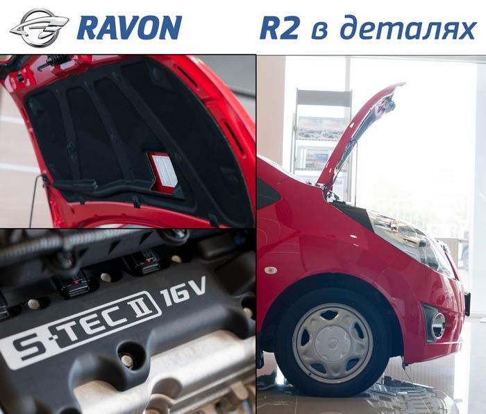 01.Основные технические особенности Ravon R2